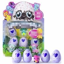 5 Pcs Hatchimals Egg Toy  Intelligent Toys Birds Interactive Hatchable Egg CollEGGtibles 4-Pack + Bonus For  Christmas Gift