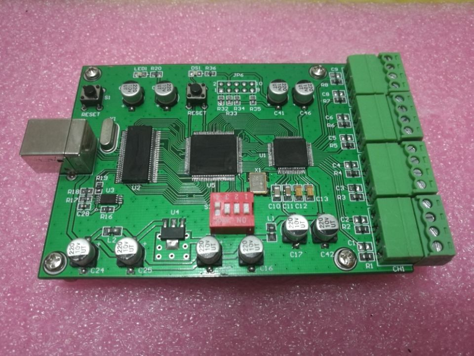 For High speed 8 channel data acquisition card USB2.0 16Bit +-5/10V Labview VC C# high performance usb data acquisition card