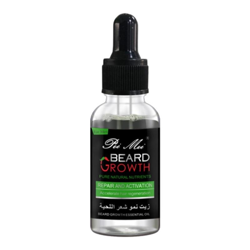Professional Beard Growth Enhancer Beard Essential Oil for Men Hair Barbe Facial Nutrition Moustache Grow Men Strength Beard Kit 5