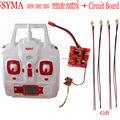 Syma X8HC XH8W XH8G Quadcopter Spare Parts Circuit Board+ Wire head+ remote control