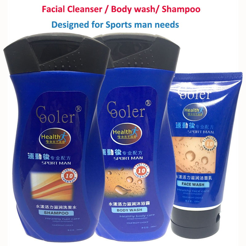 Beauty Care Sets Shampoo & Body Wash & Facial Cleanser Oil Control Moisturizing Refreshing Healty Treatment Product купить в Москве 2019