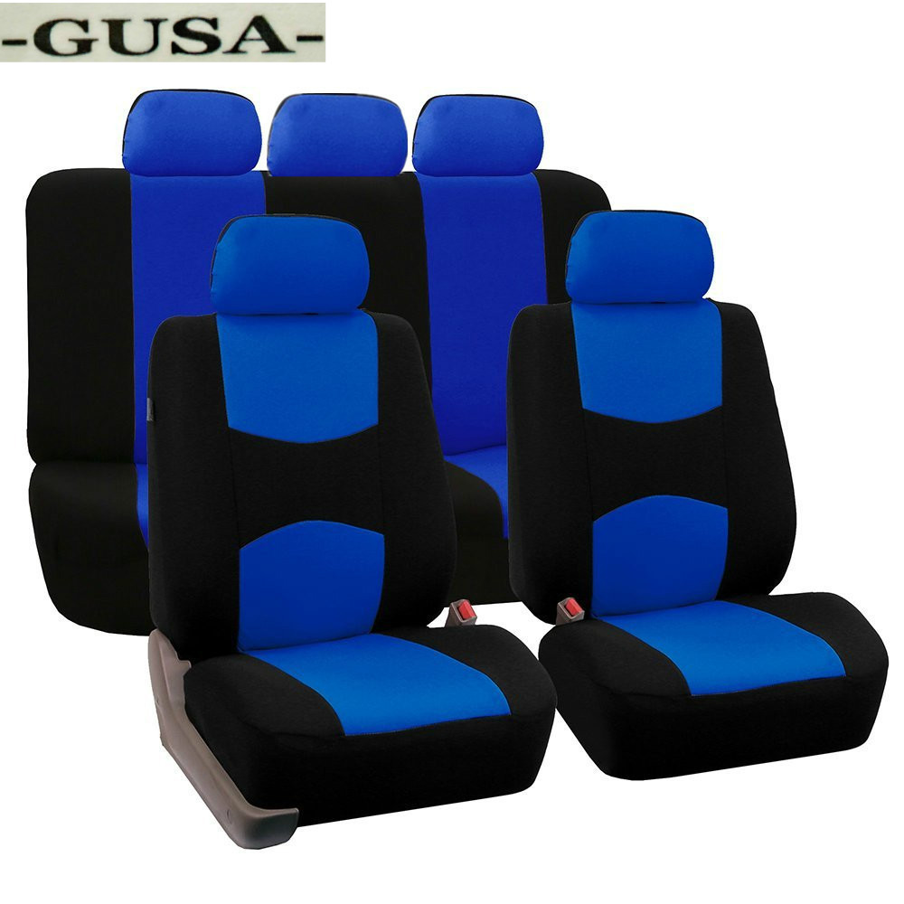 9 Pcs Leather Car Seat Covers For Volkswagen Vw Passat B5 B6 B7 Polo 4 5 6 7 Golf Tiguan Jetta Touareg Car Accessories Styling