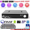 16 Canal DVR AHD 1080 P DVR 16CH AHD AHD-NH 1920*1080 MP CCTV Video Recorder DVR HVR NVR 5 Em 1 Sistema De Segurança