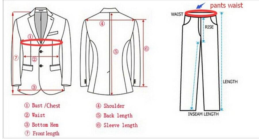 Costume Groomsman The Boutons Col Mariage Fit Parti Noir Pantalon Image Cravate As De as Hommes Trois Smokings Marié Th Chinois veste 7PdTqqw