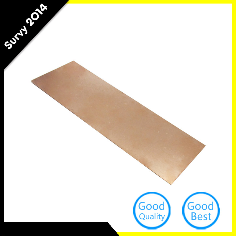 Professional 0.5mm Thickness Copper Sheet 99.9% Pure Cu Metal Plate Foil Panel 0.5mmx300mmx100mm For Industry Supply Electronic Components & Supplies