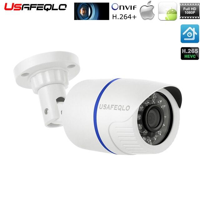 Камера видеонаблюдения POE, наружная камера видеонаблюдения, 2,8 мм, 960P, 720P, H.265, 1080P, уведомление по электронной почте, XMEye, ONVIF, P2P, обнаружение движения, RTSP, 48 В