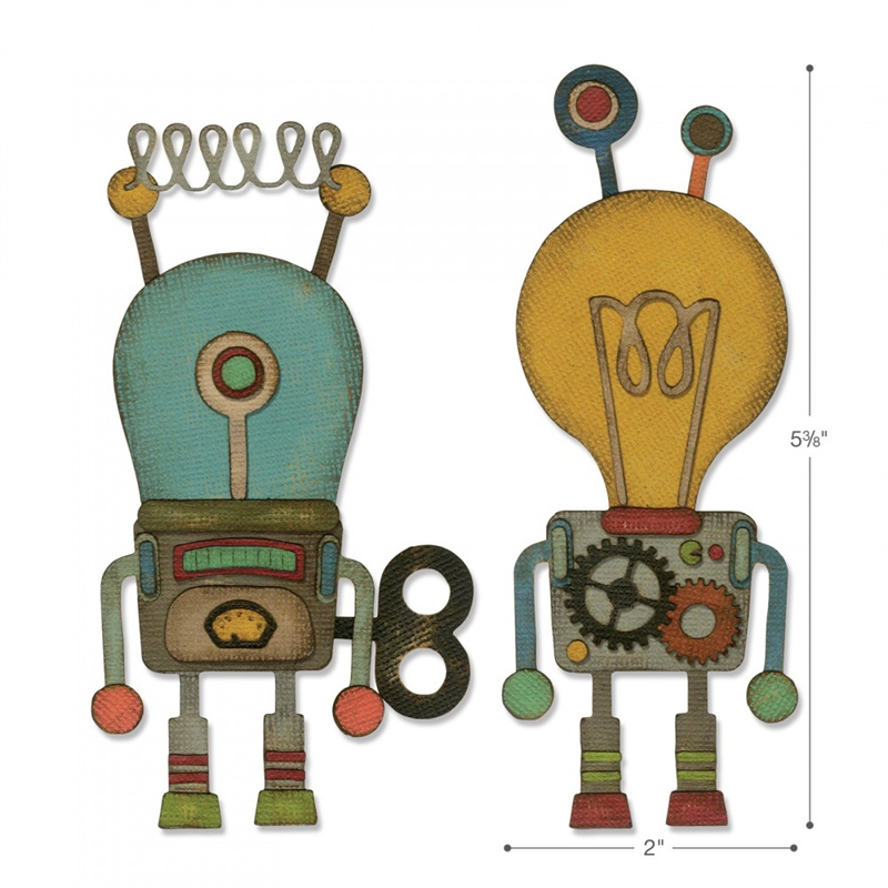 Machine Robots Metal Cutting Dies for DIY Scrapbooking Embossing Decorative Crafts Supplies Paper Cards Making New 2019 TemplateMachine Robots Metal Cutting Dies for DIY Scrapbooking Embossing Decorative Crafts Supplies Paper Cards Making New 2019 Template