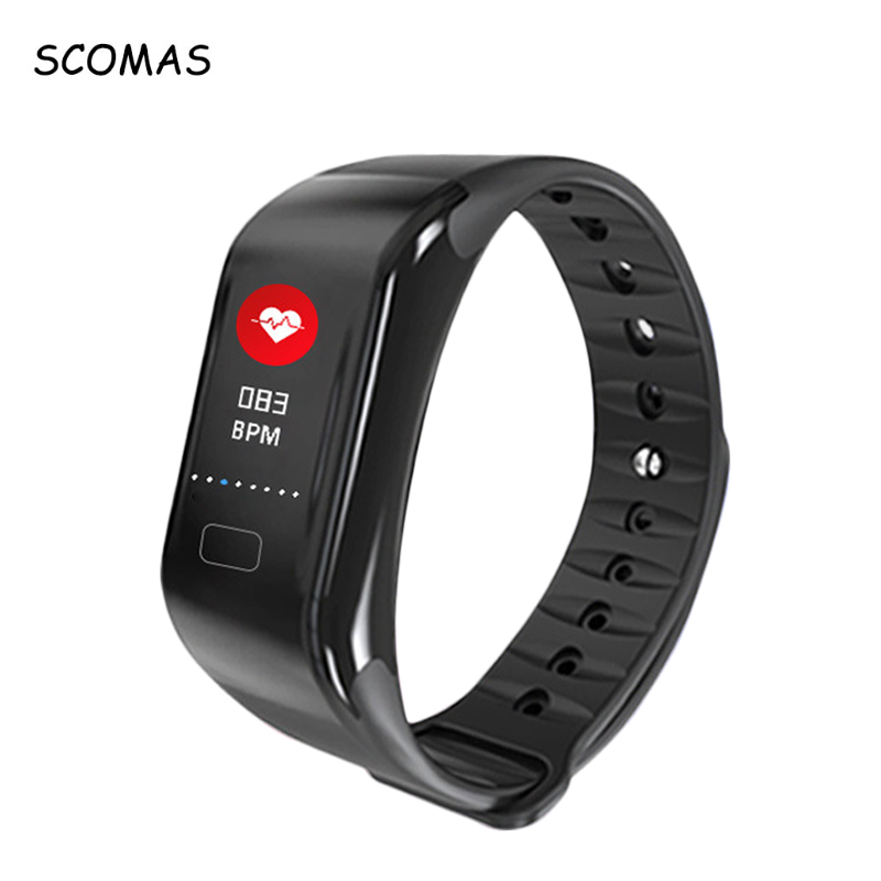SCOMAS X10 Plus Color Display Smart Wristwatch Heart Rate Monitor Smart Alarm Clock Waterproof Bluetooth 4.0 Smart Bracelet