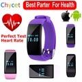2016 banda de frecuencia cardíaca bluetooth smartwatch smart watch d21 pulsera smartband actividad rastreador de fitness para ios android