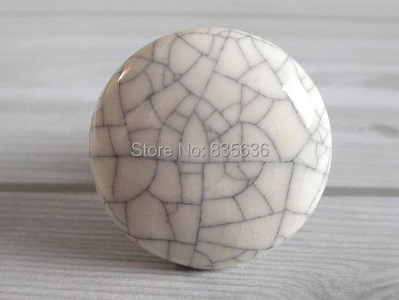 Ceramic Knobs / Kitchen Cabinet Knobs Dresser Drawer Knobs White ...