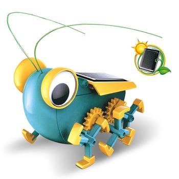Solar Power Transformation Robot Kit