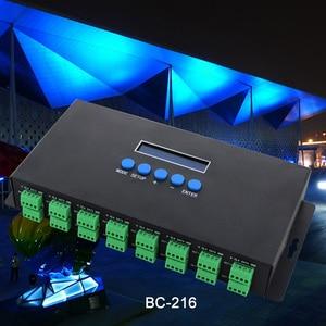 Image 5 - Neue Artnet Ethernet zu SPI/DMX pixel led licht controller BC 216 DC5V 24V 3Ax16CH Unterstützung Artnet/Artnet und sACN E. 1,31 protokoll