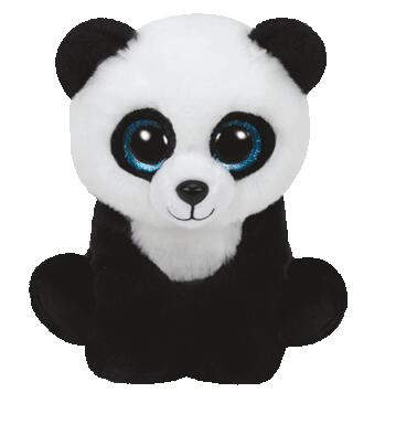 Ming Panda Bear Ty Classic 10 25cm Big Eye Plush Toys Stuffed