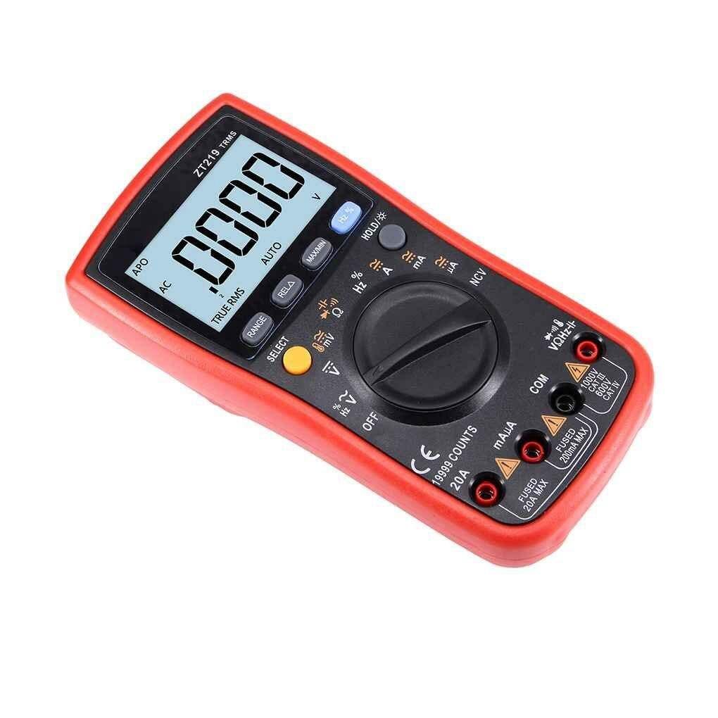 THGS ZT219 19999 Word Digital Multimeter Automatic Range High Precision Backlit Display Digital Multimeter цена