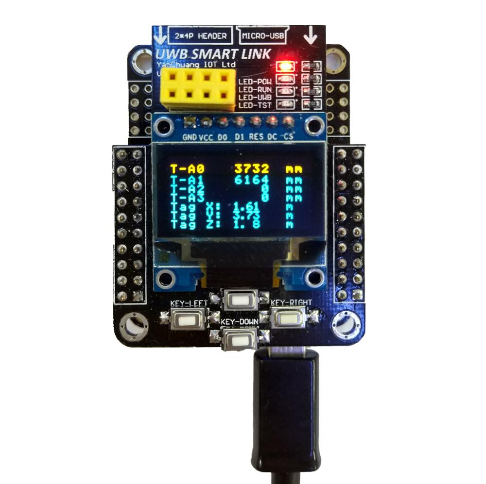 UWB handheld embedded computing coordinate to support the creation of all series