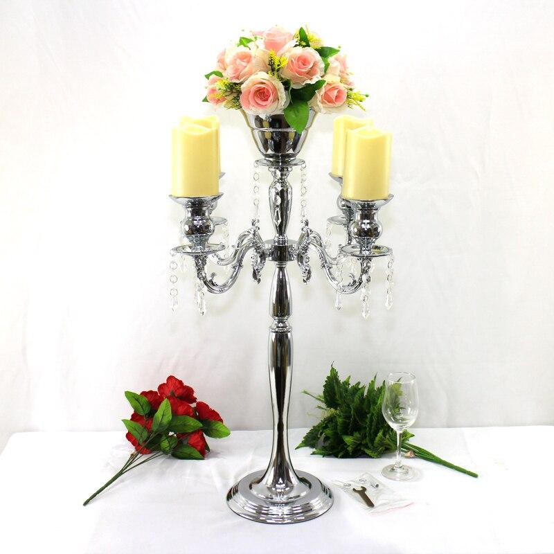 Aliexpress buy cm silver wedding flower vase