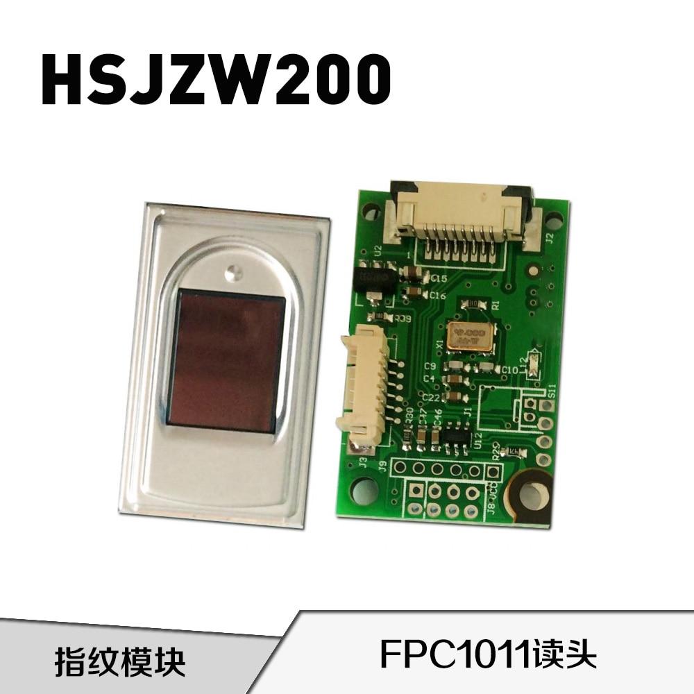 HSJZW200 Semiconductor Fingerprint Module Capacitive Fingerprint Reader FPC1011 Capacitive Touch Sensor