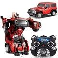 Wrangler Преобразования RC Автомобили Роботы Jeep внедорожных Дистанционного Управления Автомобилем детские Игрушки и Подарки Brinquedos Juguetes