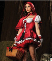 Mulheres sexy traje de halloween little red riding hood princesa roupas cosplay party dress role playing costumes de natal z05