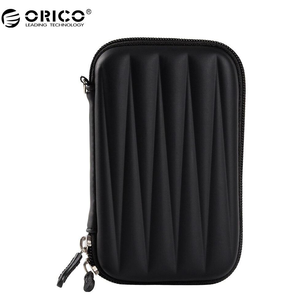Festplatten-taschen & Koffer Ehrlich Orico Phl-25 2,5 Zoll Festplattenschutz Tasche Portable Hdd Ssd Tasche Kopfhörer Tasche Für Pc Laptop-schwarz