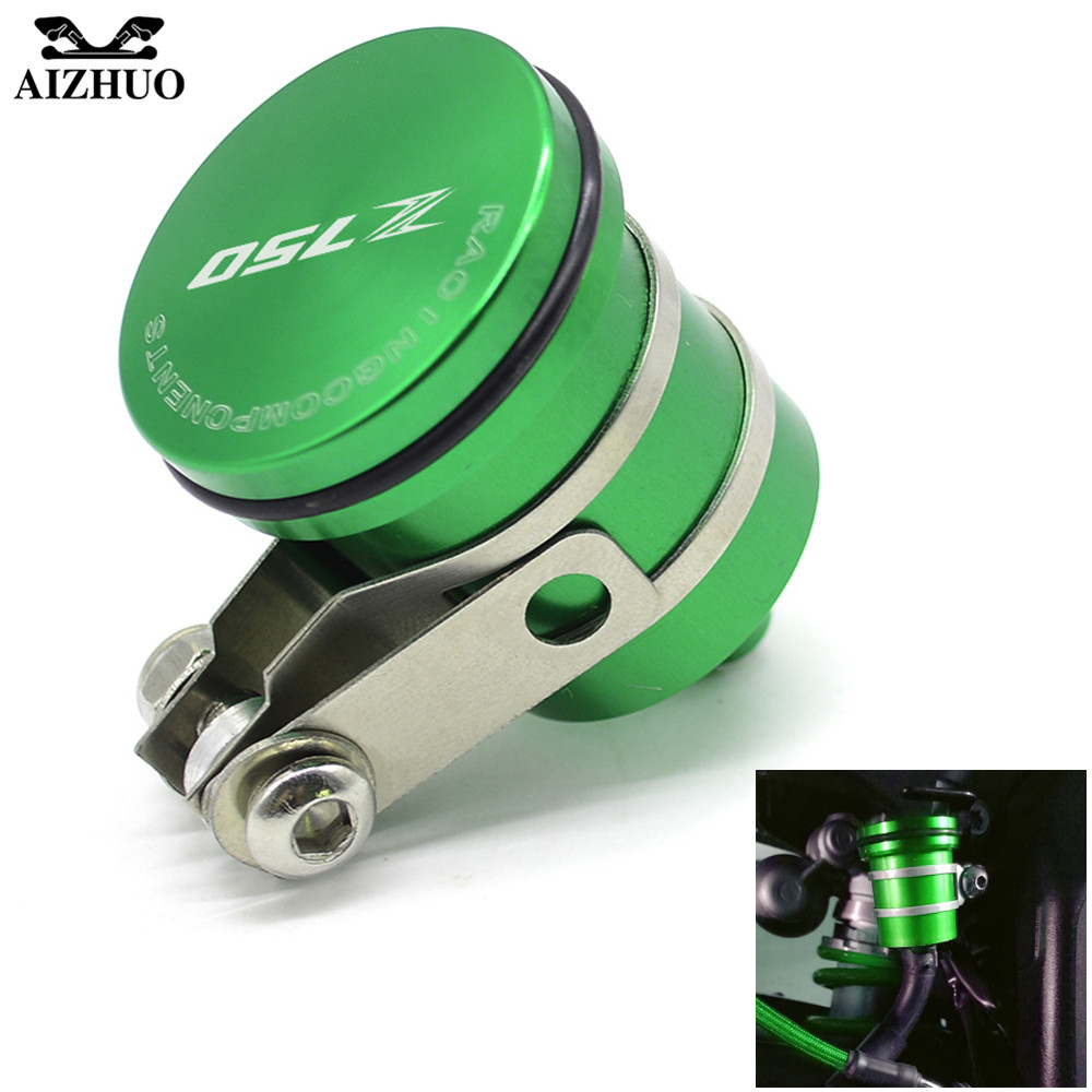 Universal Motorcycle Brake Fluid Reservoir Clutch Tank Oil Fluid Cup For kawasaki Z 750 Z650 Z 650 Z800 Z900 Z750 Z 800 Z750 R