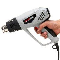 Tocha de soldagem de plástico ventilador de ar quente termostato grau profissional alta potência da tocha de soldagem folha ferramentas de cozimento arma