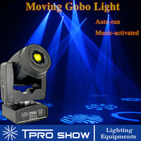 Gobo Projector Rotate Advertising LED Light Change Auto Run Music Control 90W Head Moving Lighting Attract Guests for Shop Club