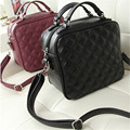 2016 new Fashion women's messenger bags famous brand handbag leather lady shoulder bags clutches black red mini diagonal mochila