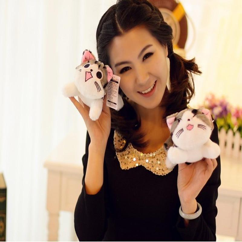 Christmas Birthday Gifts Japan Anime Figure Cheese Cat Plush Stuffed Toy Doll Pillow Cushion 20cm 1pcs