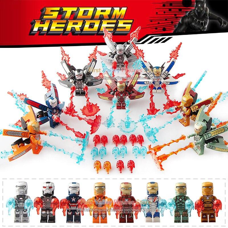 DR. TONG 80 sztuk/partia Super Heroes Avengers 3 nieskończoność wojny rysunek Iron Man Tony Star klocki dla dzieci prezent dla dzieci klocki SY1103 w Klocki od Zabawki i hobby na  Grupa 1