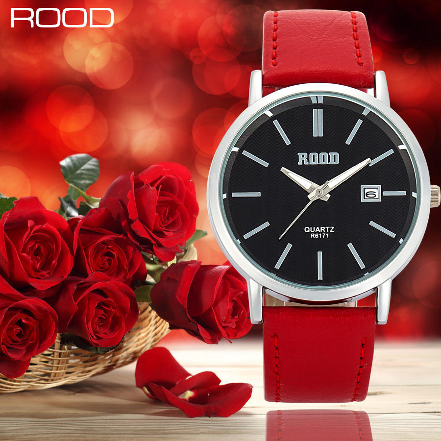 Watch Women Hot Luxury Brand Watches Fashion Casual Leather Clock 6 Color Waterproof Female Quartz Ladies Wristwatch hot luxury brand fashion orologio donna fashion business watch women casual leather clock female quartz ladies wristwatch