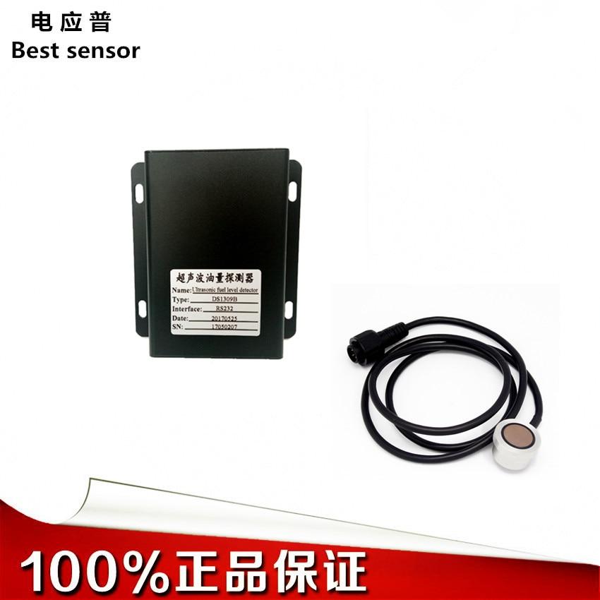 Factory Direct Ultrasonic Oil Level Sensor Free Drilling Fuel Consumption Detector Suitable For Tanker Trucks, Etc.