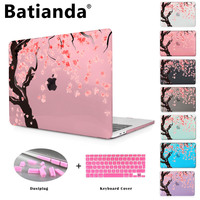 Cherry Tree Blossom Laptop Clear Case For Air 11 13 Print Hard Cover For Macbook 12