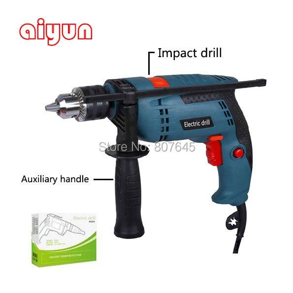 цена на Impact Drill Power Tools Electric drill 910W power drill