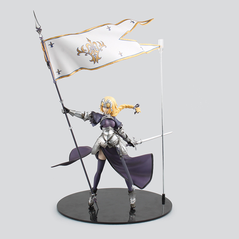 Sort/Apocryphes Joan de Arc Saber Lily PVC Figurines Collection Modèle Jouets 35 cm KT2207