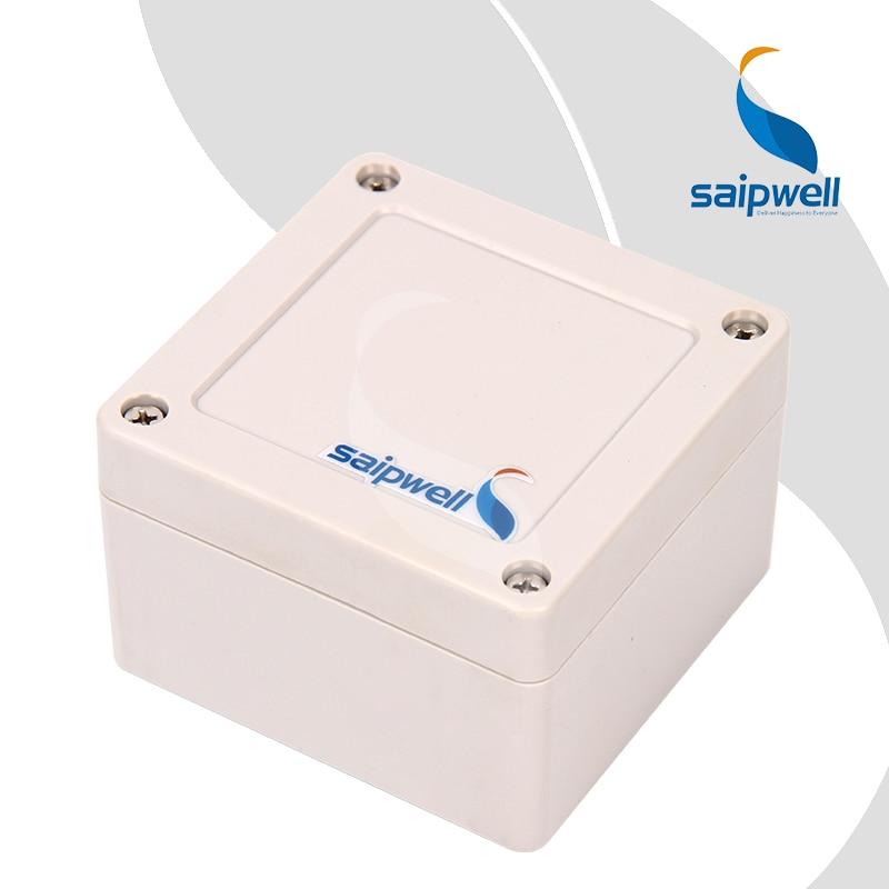 84 82 56mm Plastic Screw Design ABS Enclosure Saipwell Industrial Waterproof Box SP 02 848256