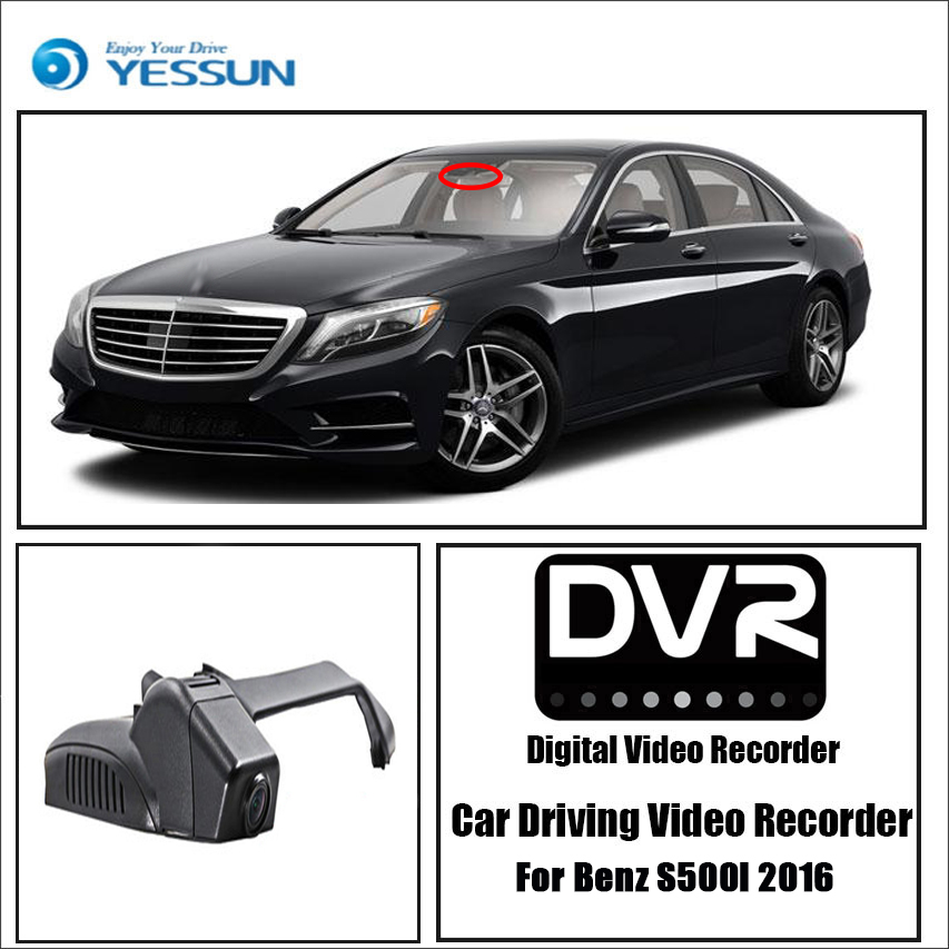 YESSUN for Benz S500l 2016 Car Dvr Mini Wifi Camera Driving Recorder Car Dash Cam Video Recorder image