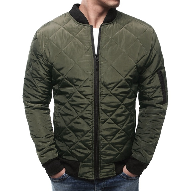 a23bd092a4a 2018 Winter Jackets Plus Size US Air Force Pilot Bomber Flight Jacket Men  Hip Hop Padded Letterman Waterproof Nylon Puffer Coat