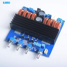 K. GUSS TDA7498 TL072 Classe D 2.1 Digital Audio Conseil Amplificateur 200 W + 2*100 W DC24V à DC32V Livraison Gratuite