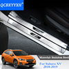 Car Styling 4Pcs Lot Stainless Steel Internal And External Car Door Threshold Trim Decoration Accessory For