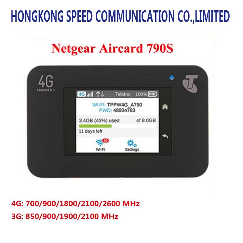 где купить Unlocked Netgear Aircard 790s (AC790S) 300Mbps 4G Mobile Hotspot wifi Router (4G in Asia, Africa,America,Europe) по лучшей цене