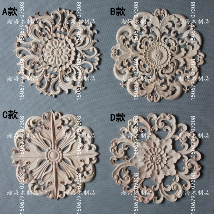 Dongyang Wood Furniture Decals Round Of European Manufacturers Of Solid  Wood Door Retail Multi Style Decorative