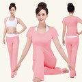 2017 New Yoga Clothing 3Pcs/Set Breathable Fitness Clothes Sportswear Sports Suit For Women Yoga Fitness Clothing