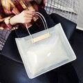 Das mulheres bolsa 2017 moda saco transparente sacos de geléia pacote de figuras bolsa bolsa de ombro cadeia saco do mensageiro