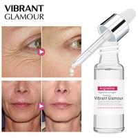 LEBENDIGE GLAMOUR Argireline Kollagen Peptide Gesicht Serum Creme Anti-Aging Falten Lift Straffende Bleaching Feuchtigkeitsspendende Hautpflege