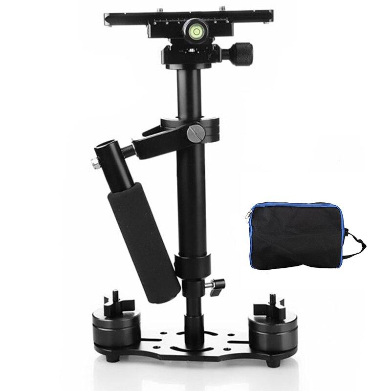 Foleto S40 Handheld Steadycam Stabilizer 40cm Steadicam For Canon 5d3 60d 750d Nikon d90 d850 GoProDSLR Video DSLR Camera Tripod