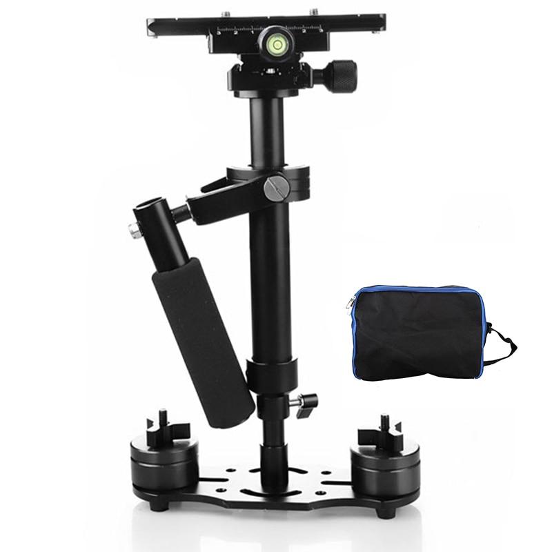 Stabilisateur de poche Foleto S40 stabilisateur de 40 cm Steadicam pour Canon 5d3 60d 750d Nikon d90 d850 Pro DSLR vidéo DSLR trépied d'appareil photo