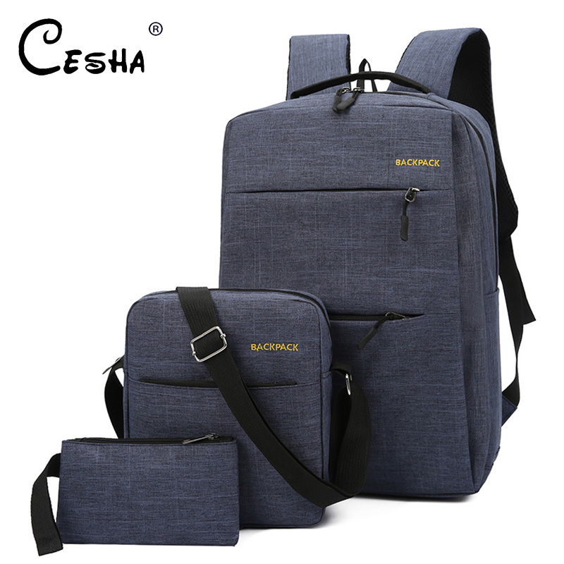 High Quality Durable Canvas School Bag Fashion Casual School Backpack For Teenagers Girl's Boy's Lovely Shoulders Book Bag SAC
