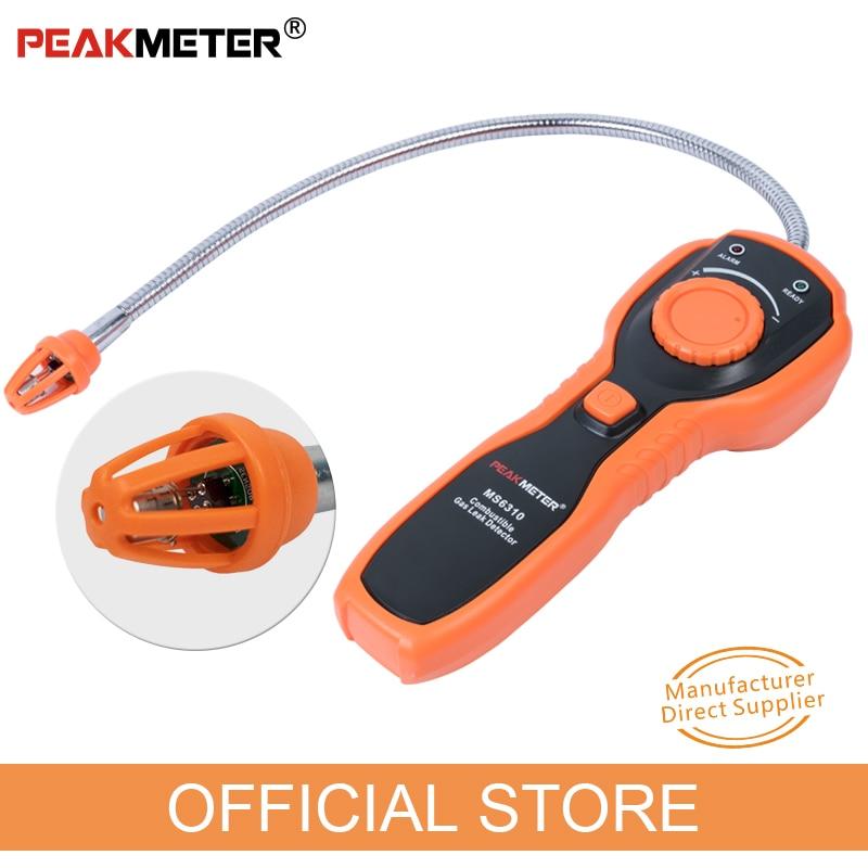 PEAKMETER oficial PM6310 Detector de fugas de gas combustible de alta - Instrumentos de medición - foto 2