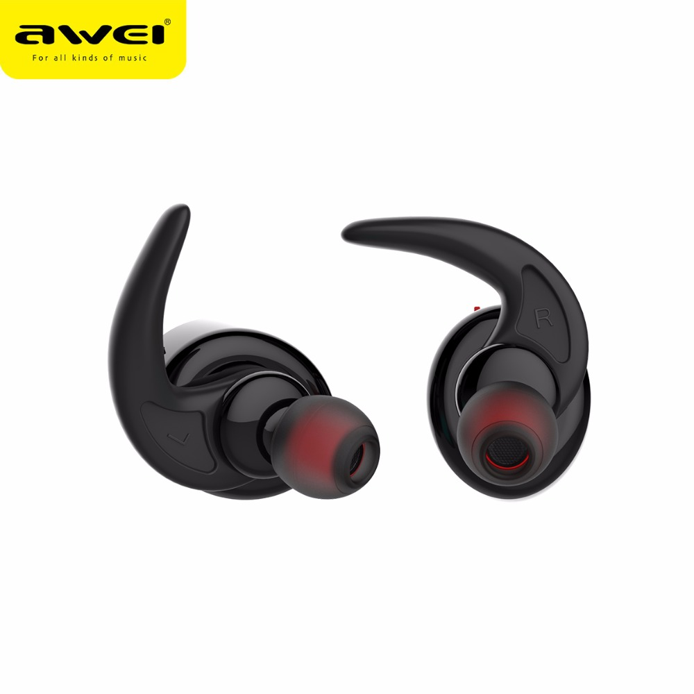 Originale AWEI T1 V4.2 Auricolari Bluetooth Cuffie Wireless TWS Noise  Cancelling Auricolari Stereo Universale per Tutti I telefoni in Originale AWEI  T1 V4.2 ... 15b2247db59b